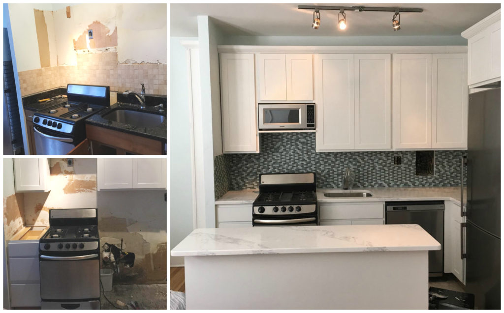 Kitchen remodel from Expert Handyman